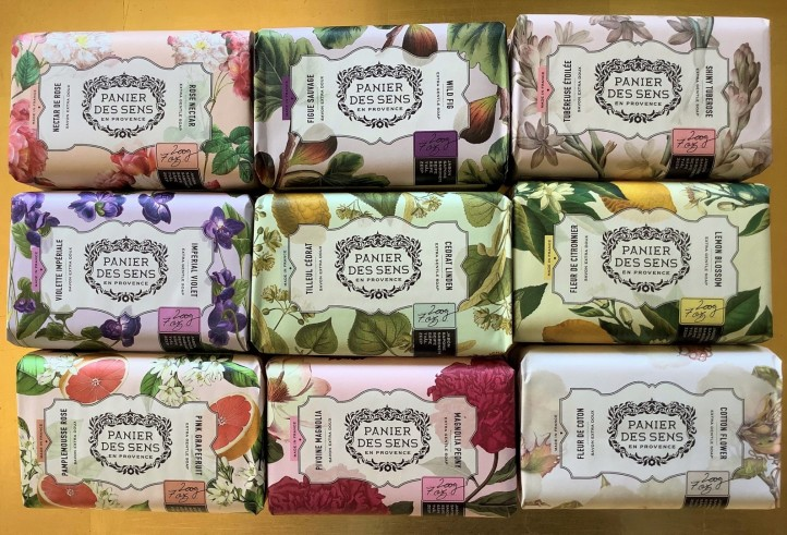 Pre de Provence soap selection $10.50